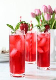 owocowa herbata na zimno