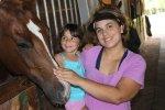 dzieci i koń